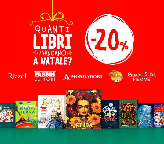 Mondadori -20%