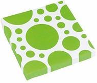 Solid Colour Dots Kiwi. 20 Tovaglioli 33X33Cm