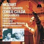 Concerto per 2 pianoforti n.10 - CD Audio di Chick Corea,Friedrich Gulda,Wolfgang Amadeus Mozart,Nikolaus Harnoncourt,Royal Concertgebouw Orchestra