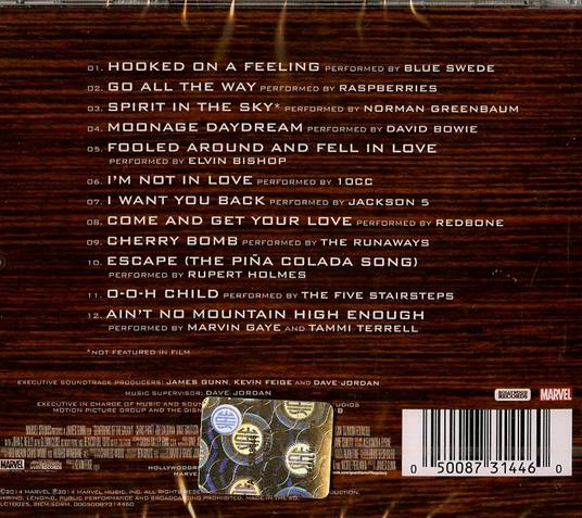 Guardians of the Galaxy (Colonna sonora) - CD Audio - 2