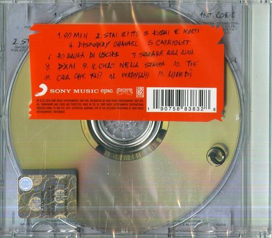 Playlist - CD Audio di Salmo - 2