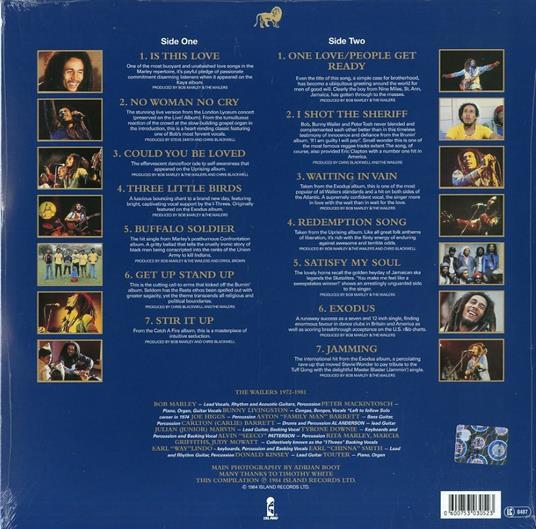 Legend (180 gr) - Vinile LP di Bob Marley & the Wailers - 2