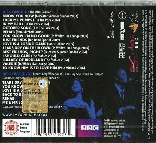 At the BBC - CD Audio + DVD di Amy Winehouse - 2