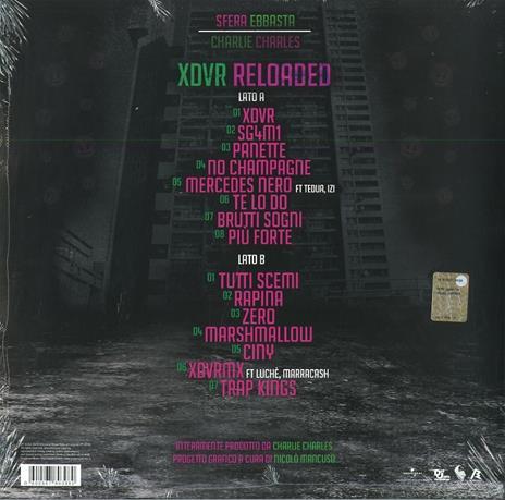 XDVR Reloaded - Vinile LP di Sfera Ebbasta - 2