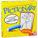 Mattel Games, Pictionary, Gioco in Scatola per Famiglie, Lingua Italiana, DPR76, 8 anni +. Gioco da tavolo