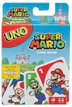 Mattel Games UNO Gioco di Carte Versione Super Mario Bros Giocattolo per Bambini 7+ Anni, DRD00. Gioco da tavolo
