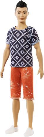 Barbie Ken Fashionistas con Maglietta Boho Hipster