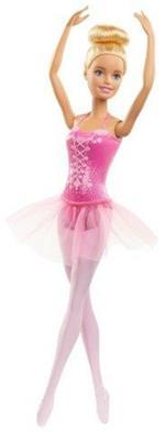 Barbie Ballerina Bambola Bionda con tutù Giocattolo per Bambini 3+ Anni, GJL59