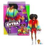 Barbie Extra Bambola Afroamericana con capelli cotonati, 10 Accessori alla Moda, Giocattolo per Bambini 3+ Anni