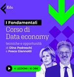 Corso di Data Economy. Tecniche e opportunità con Dino Pedreschi e Fosca Giannotti