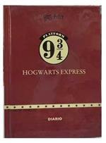 Diario Harry Potter Icons 2021-22, 16 mesi, datato, cartonato, Bordeaux - 13 x 17,7 cm