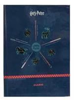 Diario Harry Potter Icons 2021-22, 16 mesi, datato, cartonato, Blu - 13 x 17,7 cm