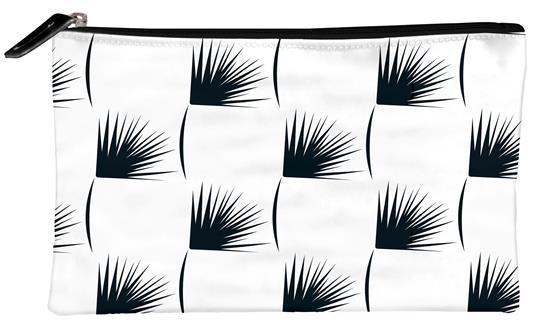 Kenzo, Astuccio piatto in similpelle 22 x 1 x 14 cm, motivo casuale - 4