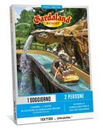 Gardaland Soggiorno. Cofanetto Tick'n Box con due biglietti ingresso al parco + soggiorno Hotel 4 stelle