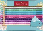 Matite colorate Faber-Castell Sparkle. Set 20 colori + temperamnatite