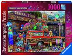 Puzzle Ravensburger Vacanze di famiglia 1000 pezzi