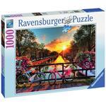 Biciclette ad Amsterdam Puzzle 1000 pezzi Ravensburger (19606)