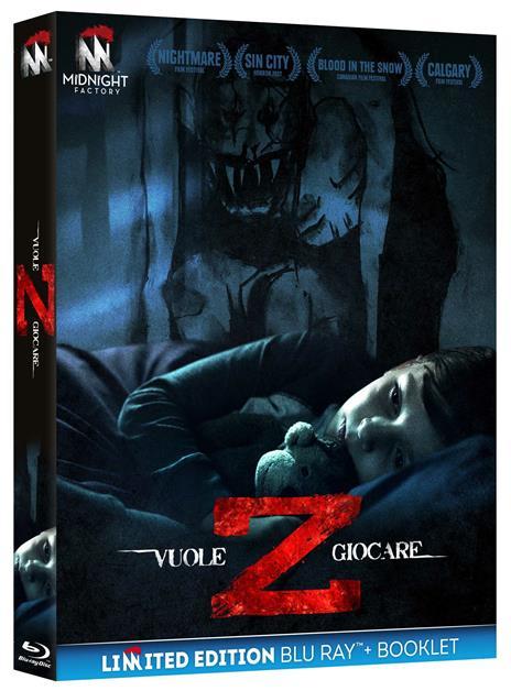 Z. Vuole giocare (Edizione limitata + booklet) (Blu-ray) di Brandon Christensen - Blu-ray