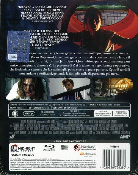 Z. Vuole giocare (Edizione limitata + booklet) (Blu-ray) di Brandon Christensen - Blu-ray - 2