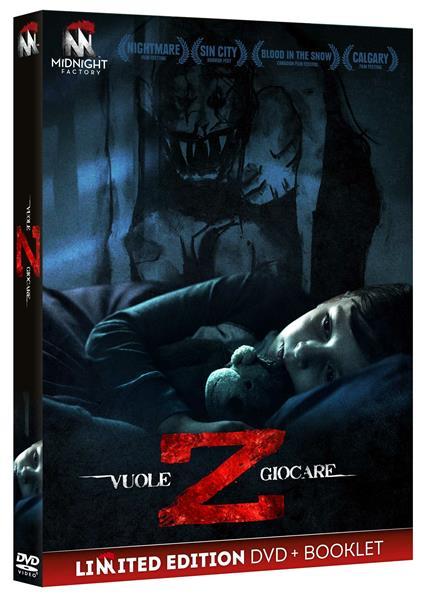 Z. Vuole giocare (Edizione limitata + booklet) (DVD) di Brandon Christensen - DVD