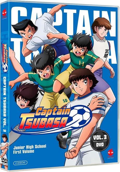 Captain Tsubasa vol. 3 (DVD) di Toshiyuki Kato - DVD