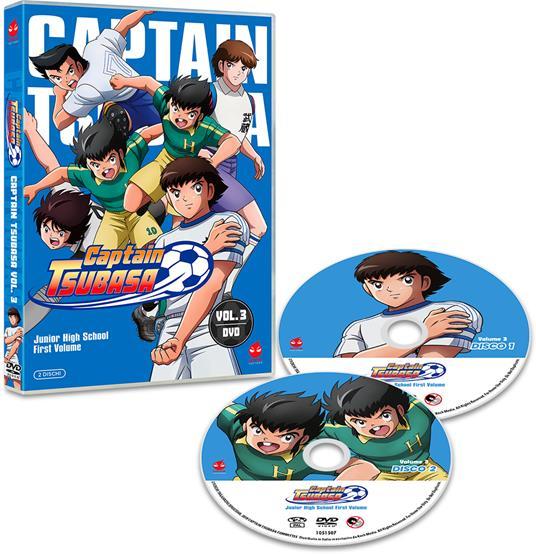Captain Tsubasa vol. 3 (DVD) di Toshiyuki Kato - DVD - 2
