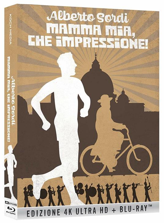 Mamma mia, che impressione! (Blu-ray + Blu-ray Ultra HD 4K) di Roberto Savarese - Blu-ray + Blu-ray Ultra HD 4K