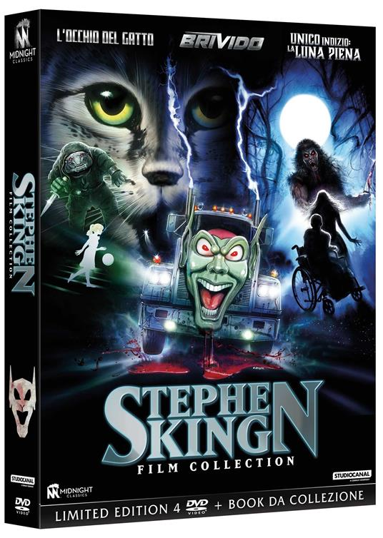 Cofanetto Stephen King Film Collection (4 DVD) di Stephen King,Daniel Attias,Lewis Teague
