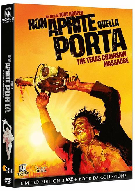 Non aprite quella porta (3 DVD) di Tobe Hooper - DVD