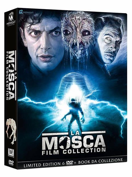 La Mosca Film Collection (6 DVD) di David Cronenberg,Kurt Neumann,Edward Bernds,Don Sharp,Chris Walas