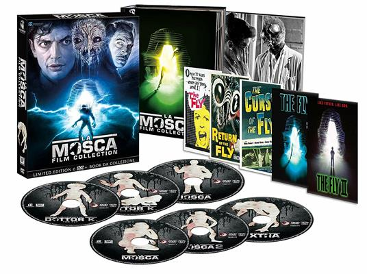 La Mosca Film Collection (6 DVD) di David Cronenberg,Kurt Neumann,Edward Bernds,Don Sharp,Chris Walas - 2