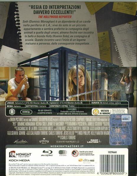 Pet (Blu-ray) di Carles Torrens - Blu-ray - 2