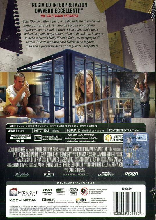 Pet (DVD) di Carles Torrens - DVD - 2