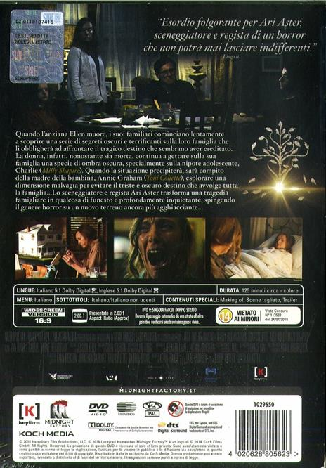 Hereditary. Le radici del male (DVD) di Ari Aster - DVD - 3