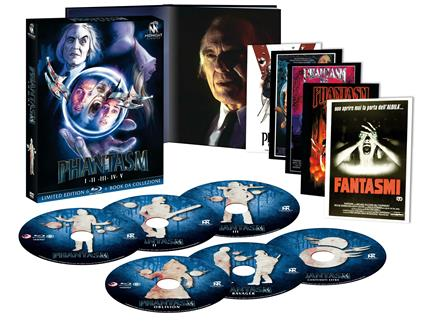 Cofanetto Phantasm 1-5 (6 Blu-ray) di Don Coscarelli,David Hartman