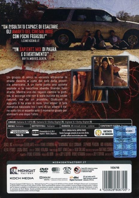 Downrange (DVD) di Ryûhei Kitamura - DVD - 2