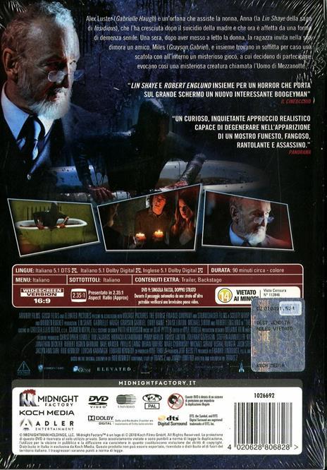 The Midnight Man. Edizione limitata (DVD) di Travis Zariwny - DVD - 2
