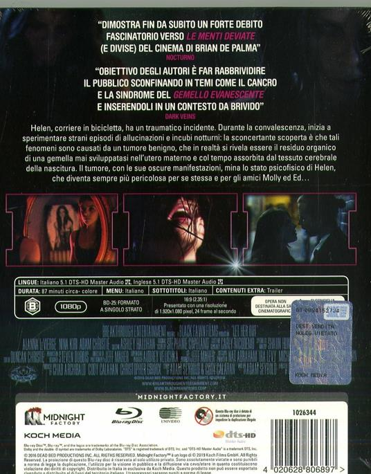 Let Her Out (Blu-ray) di Cody Calahan - Blu-ray - 2