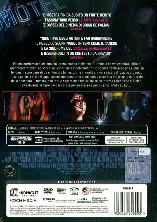 Let Her Out (DVD) di Cody Calahan - DVD - 2