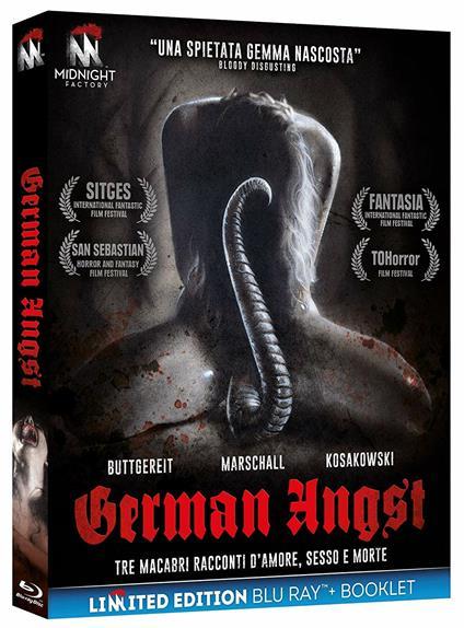 German Angst. Limited Edition con Booklet (Blu-ray) di Jörg Buttgereit,Michal Kosakowski,Andreas Marschall - Blu-ray