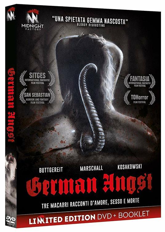 German Angst. Limited Edition con Booklet (DVD) di Jörg Buttgereit,Michal Kosakowski,Andreas Marschall - DVD