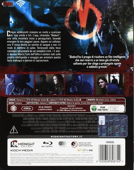 Bedevil. Non installarla. Limited Edition con Booklet (DVD) di Abel Vang,Burlee Vang - DVD - 2