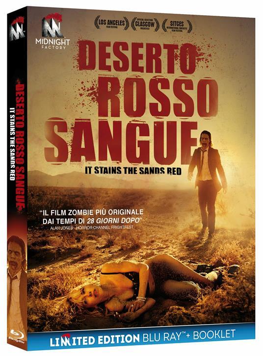 Deserto rosso sangue. Edizione limitata (Blu-ray) di Colin Minihan - Blu-ray