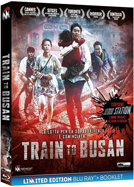 Train to Busan. Limited Edition (2 Blu-ray) di Sang-ho Yeun