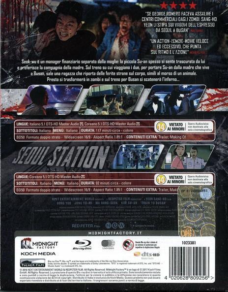 Train to Busan. Limited Edition (2 Blu-ray) di Sang-ho Yeun - 2