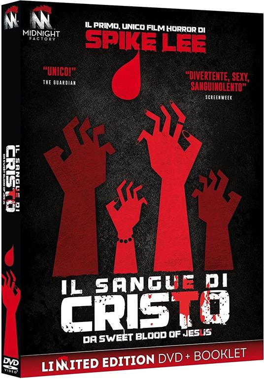 Il sangue di Cristo. Da Sweet Blood of Jesus. Limited Edition con Booklet (DVD) di Spike Lee - DVD