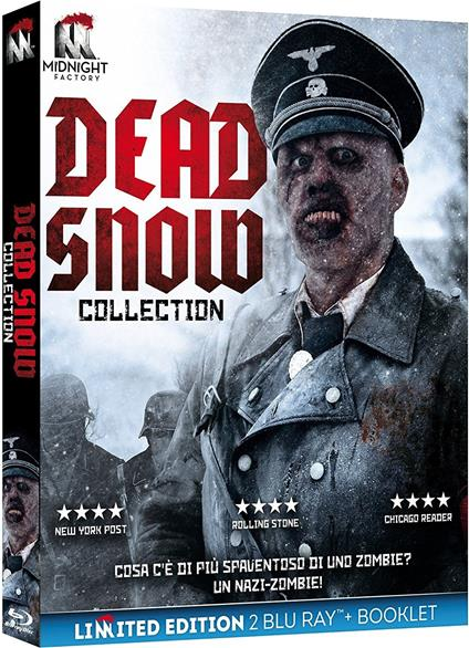 Dead Snow Collection. Limited edition con Booklet (2 Blu-ray) di Tommy Wirkola