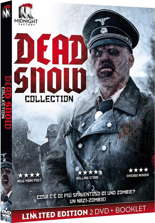 Dead Snow Collection. Limited edition con Booklet (2 DVD) di Tommy Wirkola