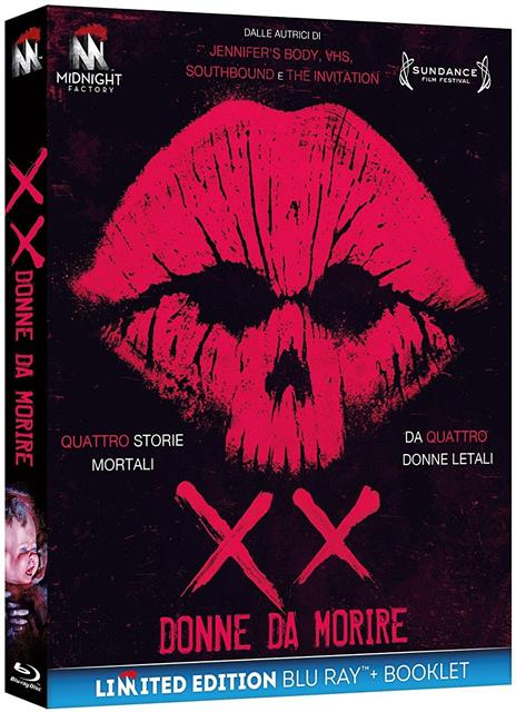 XX. Donne da morire. Limited Edition con Booklet (Blu-ray) di Roxanne Benjamin,Karyn Kusama,St. Vincent,Jovanka Vuckovic - Blu-ray