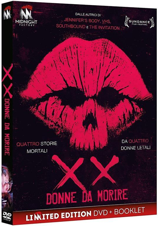 XX. Donne da morire. Limited Edition con Booklet (DVD) di Roxanne Benjamin,Karyn Kusama,St. Vincent,Jovanka Vuckovic - DVD